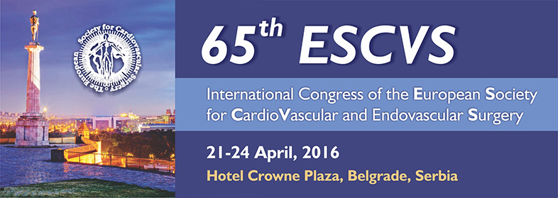 65th ESCVS International Congress of the European Society for Cardiovascular and Endovascular Surgery