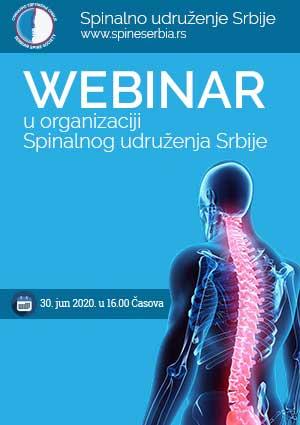 WEBINAR u organizaciji Spinalnog udruženja Srbije